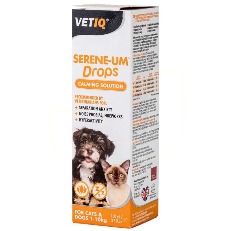 MC VetIQ Sereneum Kedi Ve Köpek İçin Sakinleştirici Damla 100 ml   130,50 TL