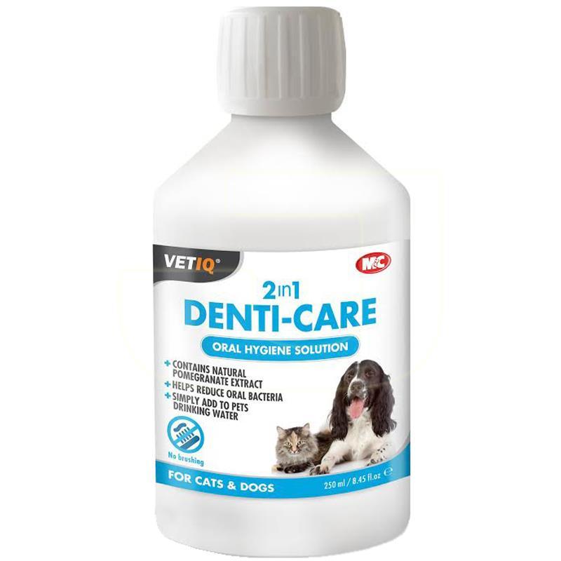 MC VetIQ Denti Care Kedi Köpek Ağız ve Diş Bakım Solüsyonu 250 ml | 138,80 TL