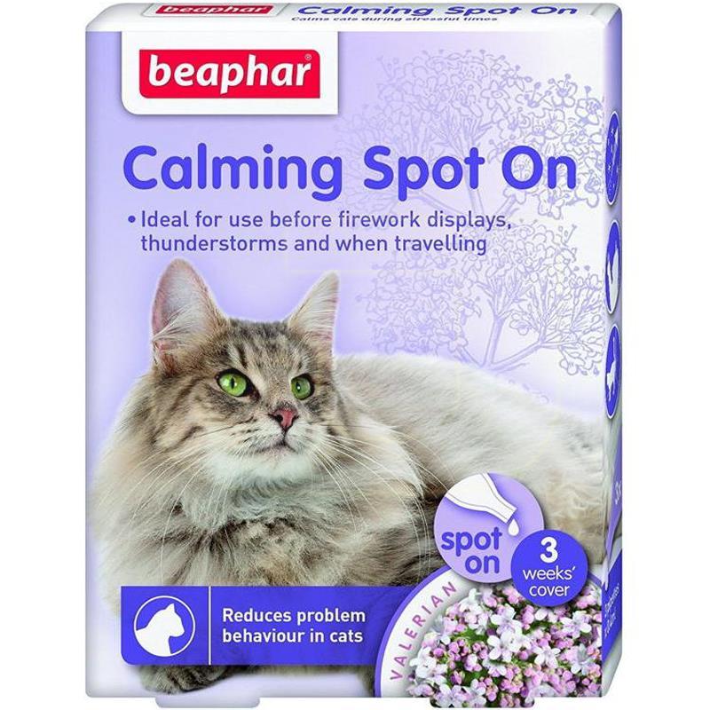 Beaphar Calming Spot On Kedi Sakinleştirici Damla 0,4 ml 3 Adet   58,44 TL