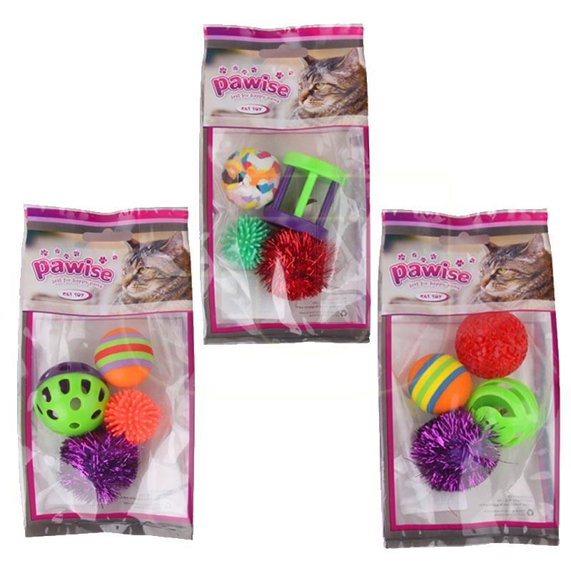 Pawise Karışık Kedi Oyuncak Seti 4 Adet   20,55 TL