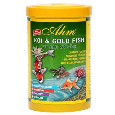 Ahm Pond Green Sticks Koi Ve Japon Bal��� Yemi  1000 ml | 7,39 TL