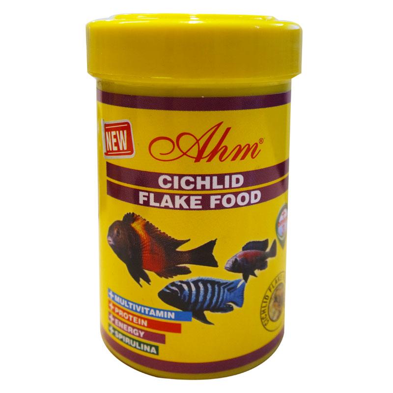 Ahm Cichlid Flake Pul Balık Yemi 100 ml   9,98 TL