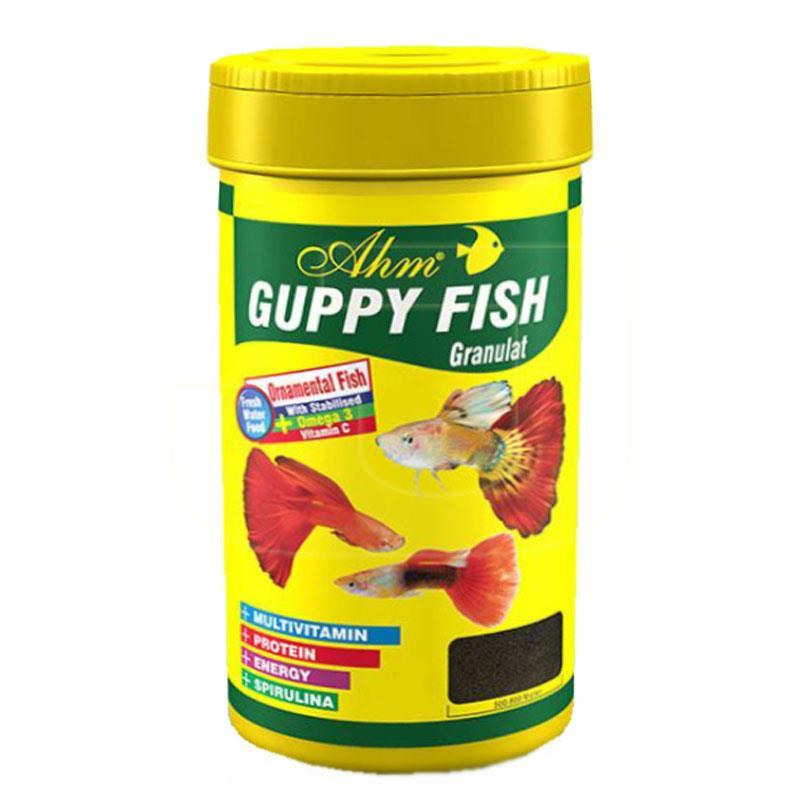 Ahm Guppy Granulat Lepistes Granül Balık Yemi 100 ml | 8,98 TL