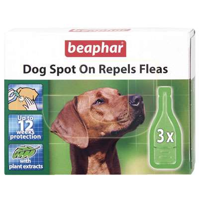 beaphar bio spot on repels fleas k pek pire damlas 3 l paket. Black Bedroom Furniture Sets. Home Design Ideas