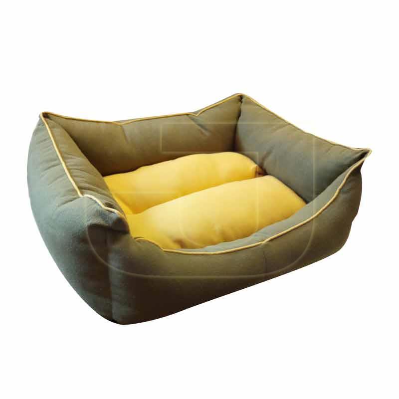 Paw Paw Yeşil Sarı Divan Köpek Yatağı No.3 | 191,25 TL