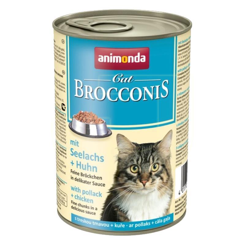 Animonda Brocconis Balıklı Ve Tavuklu Kedi Konservesi 400 gr   8,10 TL