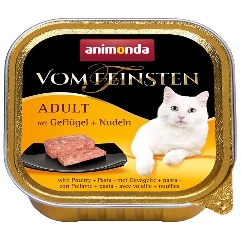 Animonda Kümes Hayvanlı Ve Makarnalı Konserve Kedi Maması 100 gr | 7,20 TL