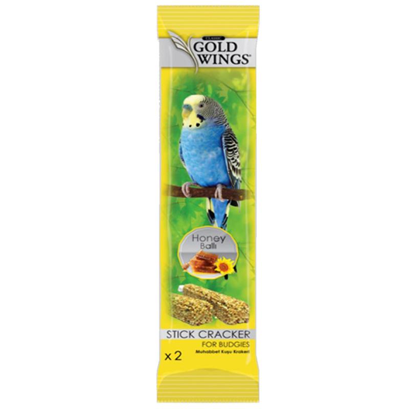 Gold Wings Muhabbet Kuşları İçin Ballı Kraker 2 Adet   2,83 TL
