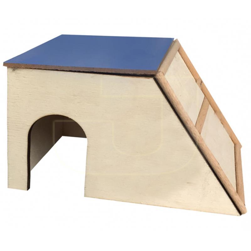 Beaks Kemirgenler İçin Merdivenli Ahşap Kemirgen Evi 19 cm   18,67 TL