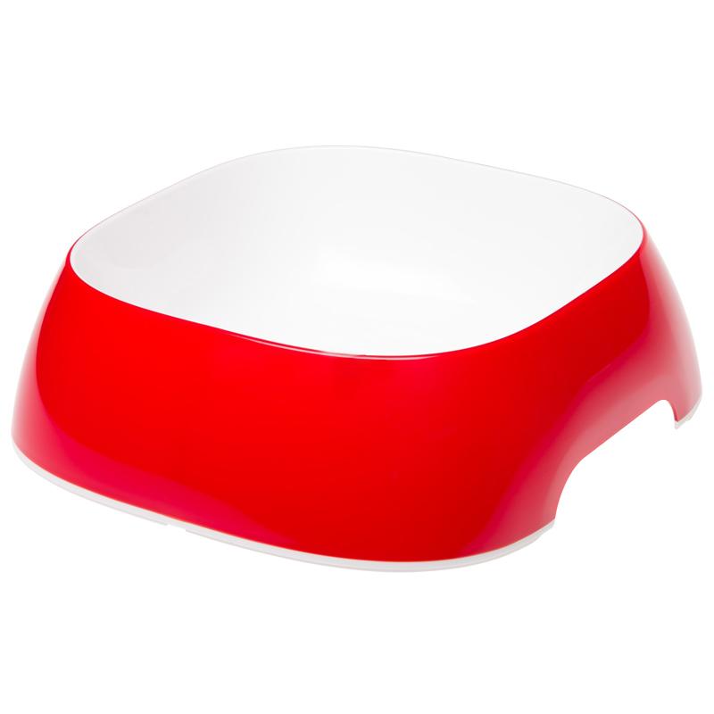 Ferplast Glam Melamin Mama Ve Su Kabı Kırmızı Medium 750 ml | 38,34 TL