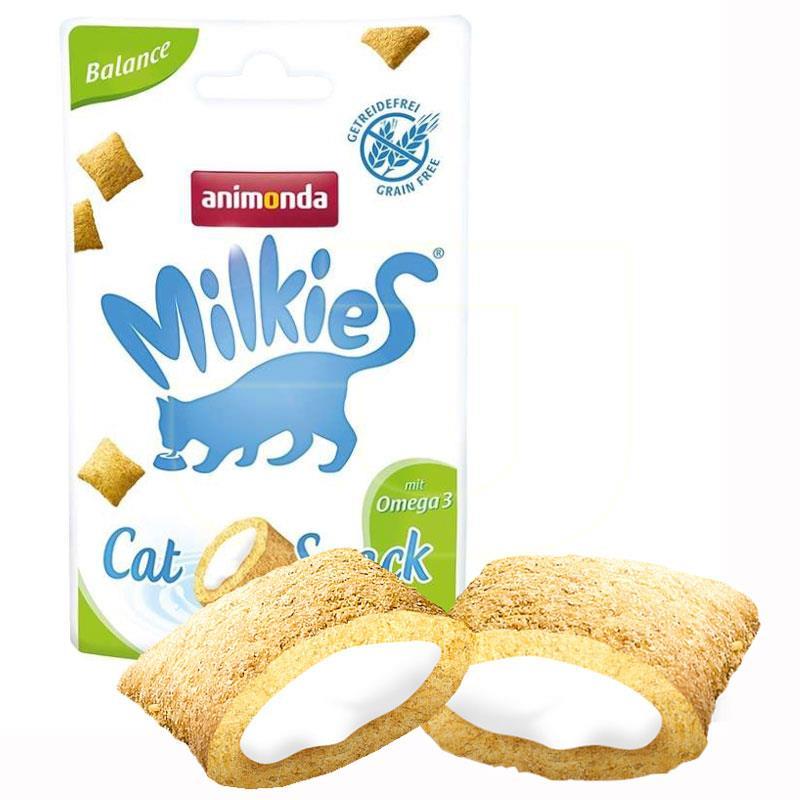 Animonda Milkies Omega 3 Katkılı Tahılsız Kedi Ödülü 30 gr   8,71 TL