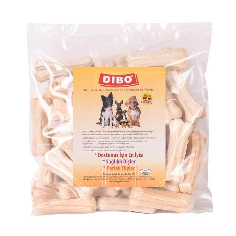 Dibo Köpek Çiğneme Kemiği Beyaz Press 20-25 gr 50 Adet | 138,52 TL