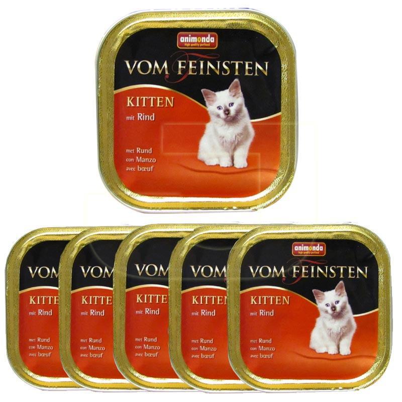 Animonda Kitten Sığır Etli Yavru Kedi Konservesi 6 Adetx100 gr | 33,60 TL