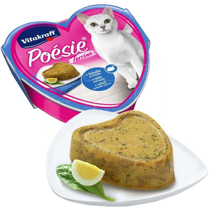 Vitakraft Poesie Yumurtalı Balıklı Yaş Kedi Maması 85 gr | 5,04 TL