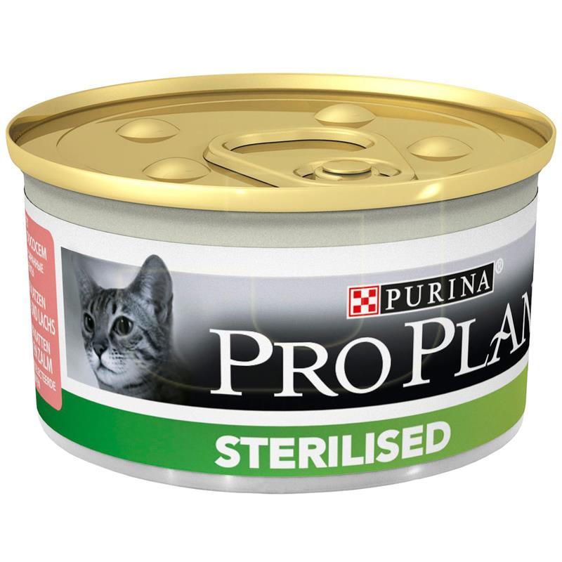 ProPlan Sterilised Ton Ve Somon Kısırlaştırılmış Kedi Konservesi 85 gr