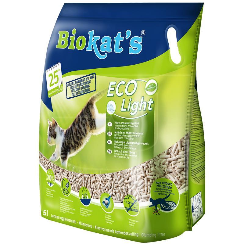 Biokats Eko Light Pelet Kedi Kumu 5 Litre   69,70 TL
