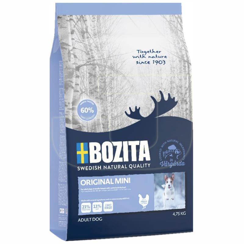 Bozita Original Mini Tavuklu Küçük Irk Yetişkin Köpek Maması 4,75 Kg | 123,20 TL