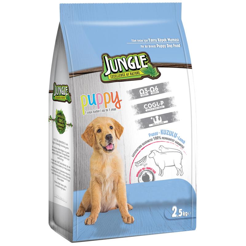 Jungle Kuzu Etli Yavru Köpek Maması 2,5 Kg | 37,26 TL