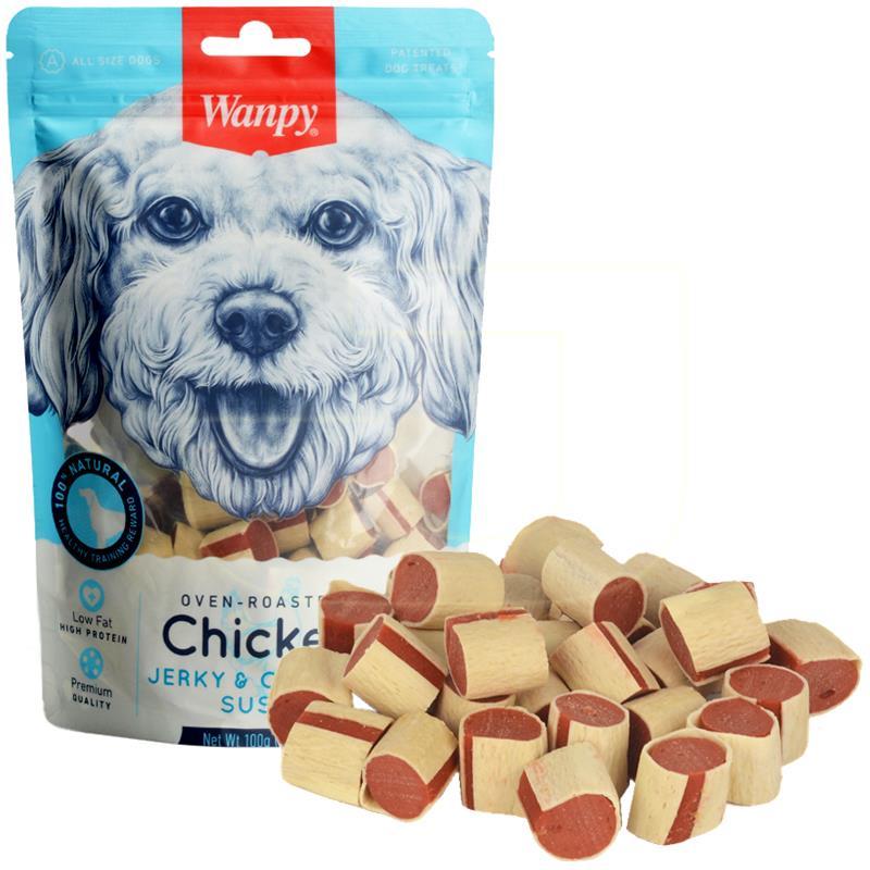 Wanpy Morina Balıklı Suşi Yumuşak Köpek Ödülü 100 gr