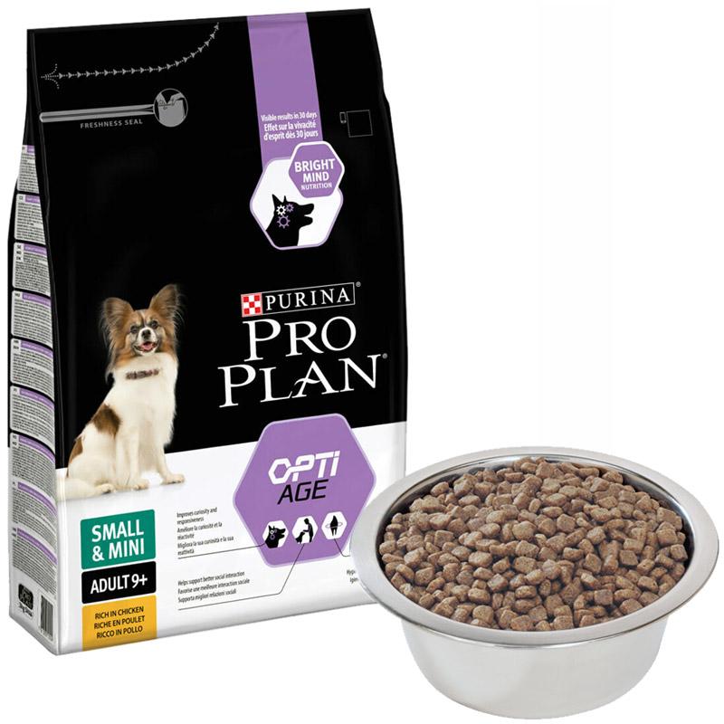 ProPlan Opti Age 9+ Tavuklu Küçük Irk Yaşlı Köpek Maması 700 Gr | 34,93 TL