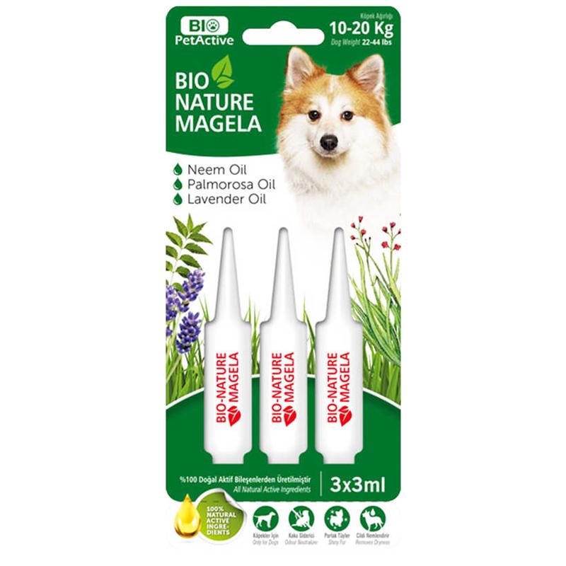 Bio Pet Active Köpek Deri Ve Tüy Bakım Damlası 10-20 kg 3 mlx3 Adet | 15,17 TL