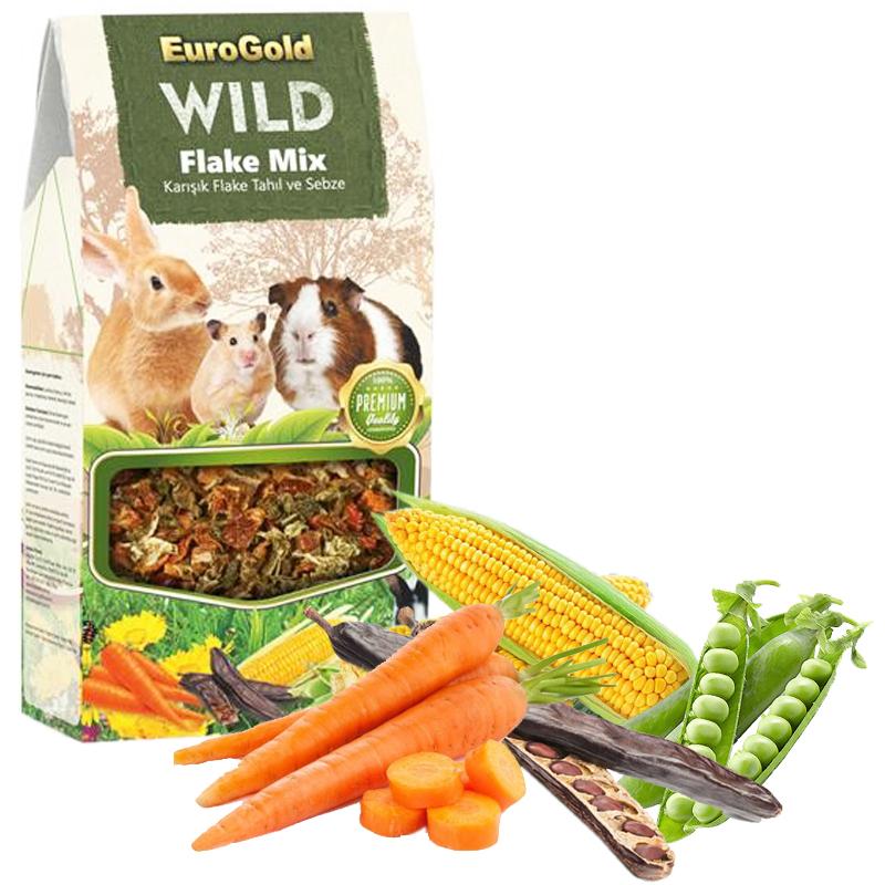 Eurogold Wild Tahıl Ve Sebze Karışım Doğal Kemirgen Yemi Katkısı 165 gr | 9,29 TL