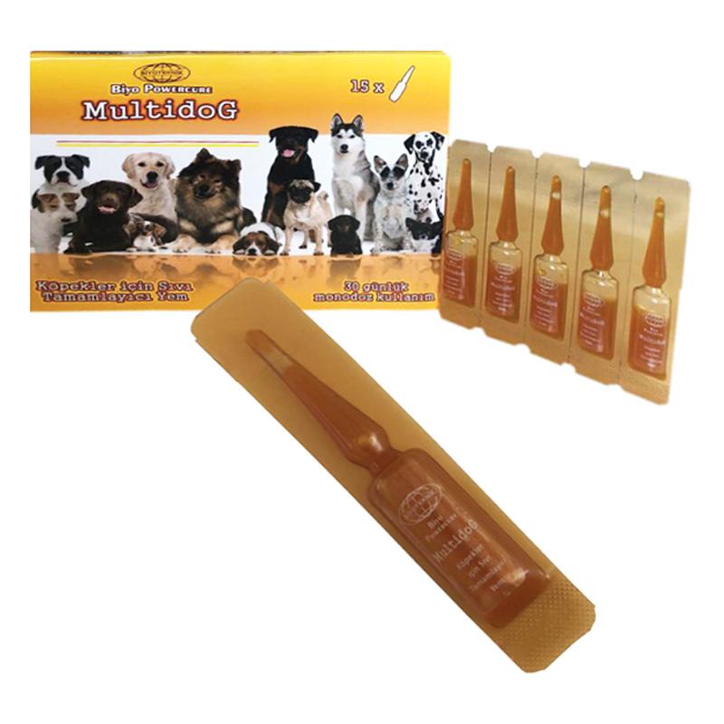 Biyoteknik Multidog Köpek İçin Vitamin Takviyesi 2 mlx15 Adet | 21,50 TL