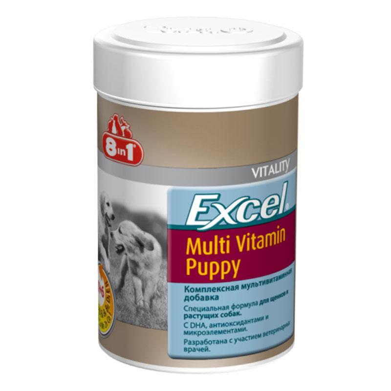 8in1 Excel Yavru Köpek Multivitamin Tableti 100 Tablet | 68,74 TL