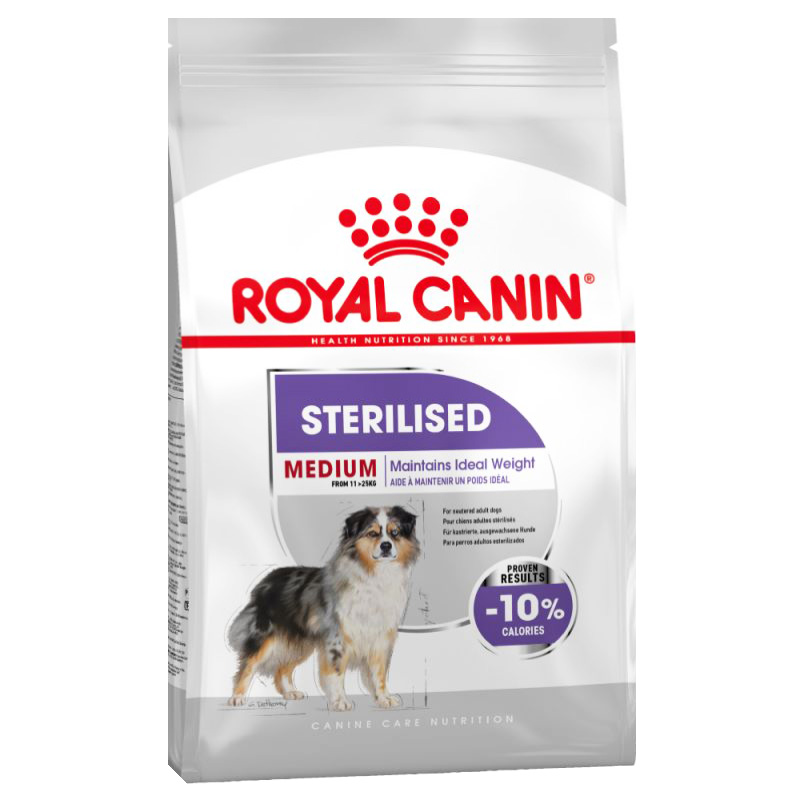 Royal Canin Kısırlaştırılmış Köpek Maması 10 Kg   308,72 TL