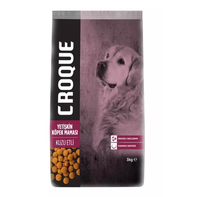 Croque Kuzulu Yetişkin Köpek Maması 3 Kg | 53,12 TL