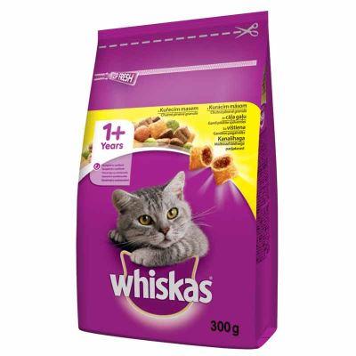 Whiskas Tavuklu Ve Sebzeli Yetişkin Kedi Maması 300 gr | 9,68 TL