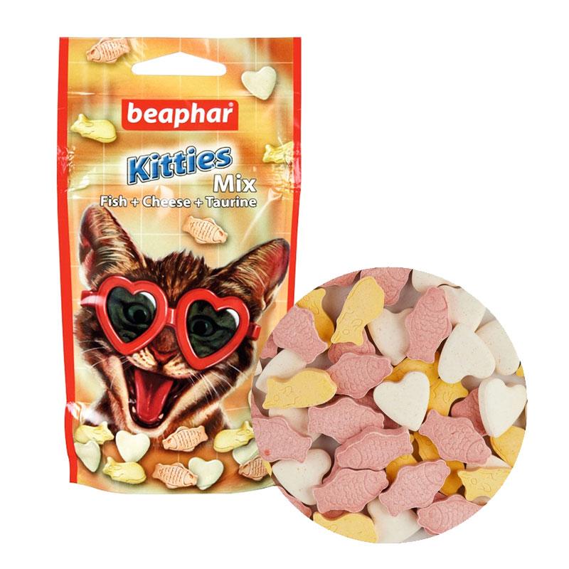 Beaphar Kitties Mix Balık Ve Peynirli Yavru Kedi Ödülü 32,5 gr | 18,31 TL