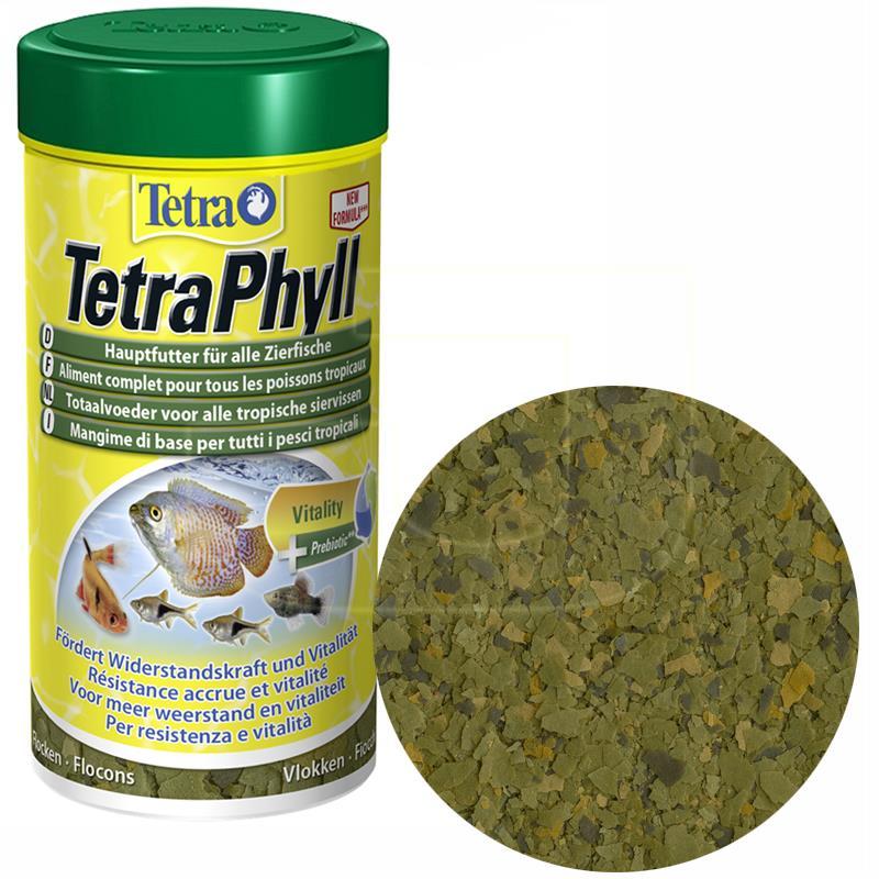 Tetra Phyll Flakes Prebiyotikli Pul Balık Yemi 250 ml | 42,12 TL