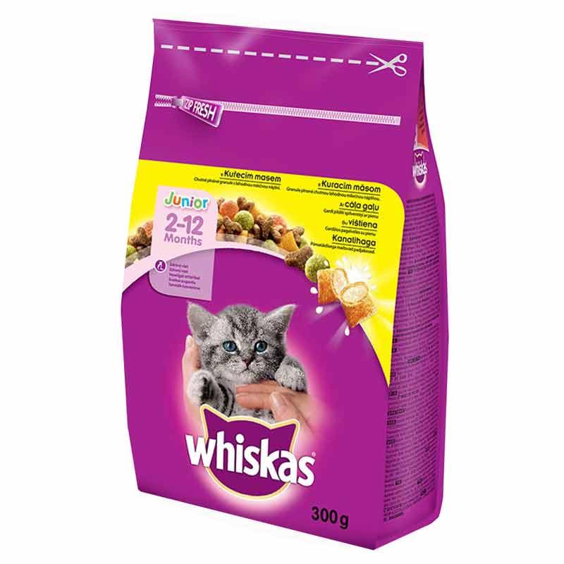 Whiskas Junior Tavuklu Yavru Kedi Maması 300 gr | 12,38 TL