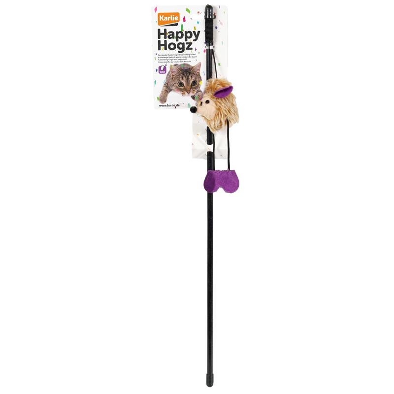 Karlie Sesli Kirpi Olta Kedi Oyuncağı 50 cm | 43,56 TL