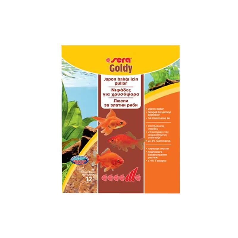 Sera Goldy Pul Balık Yemi 12 gr | 7,96 TL