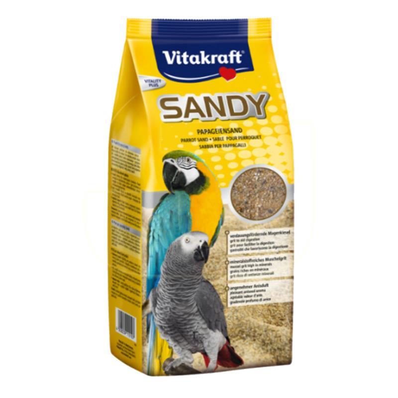 Vitakraft Sandy Mineralli Papağan Kumu 2,5 Kg | 31,30 TL