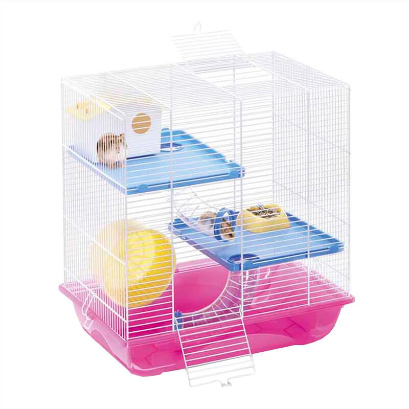 Imac Criceti 7 Hamster Kafesi Fuşya 45x30x47,5 cm | 419,28 TL