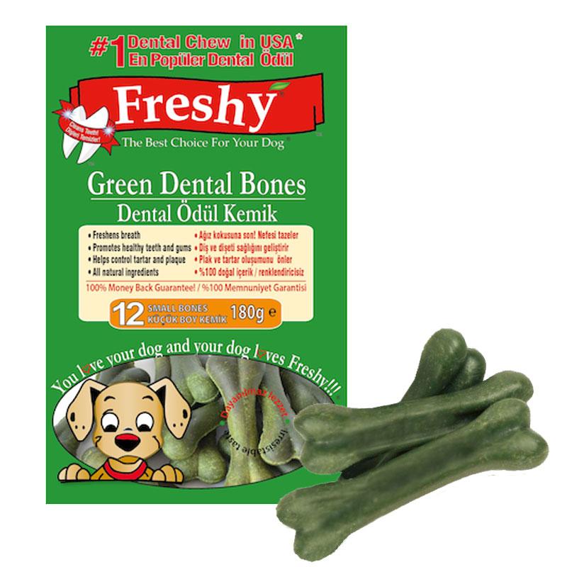 Freshy Small Klorofilli Köpek Kemiği 180 gr 12 Adet | 29,47 TL
