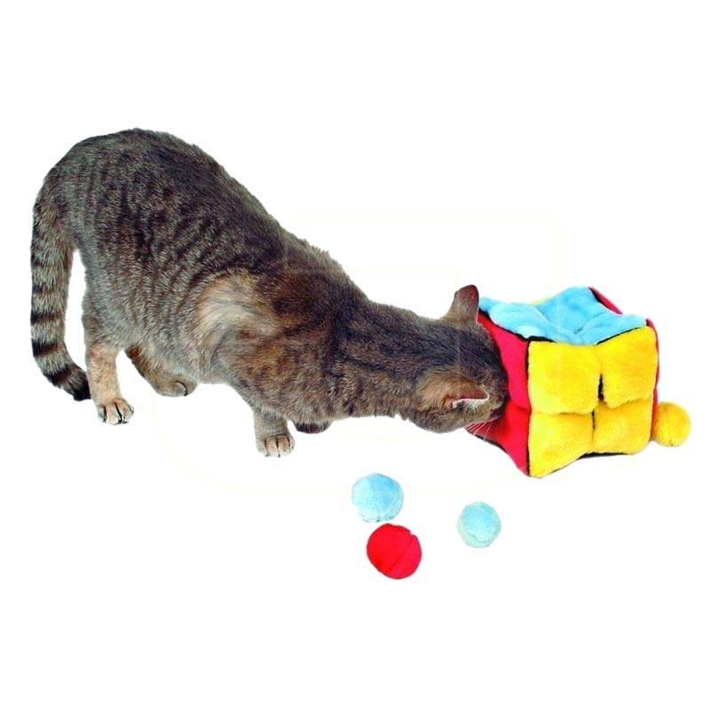 Trixie Catnipli Peluş Küp Kedi Oyuncağı 14 cm | 100,91 TL
