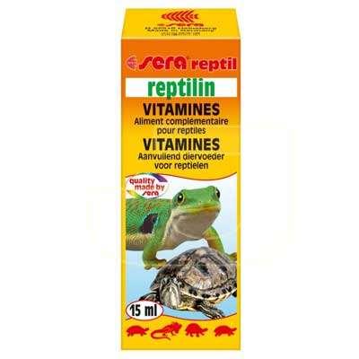 Sera Reptilin Kaplumbağa Ve Sürüngen Vitamini 15 ml | 62,08 TL