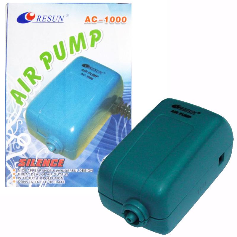 Resun AC1000 Akvaryum Hava Motoru Tek Çıkışlı 2,5 watt | 41,99 TL