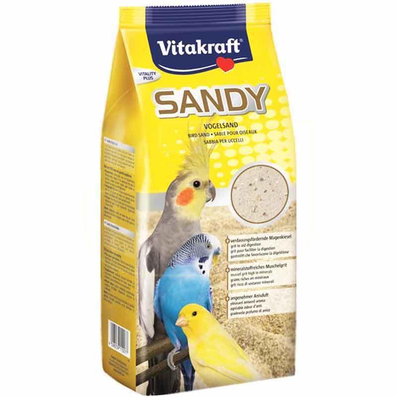 Vitakraft Sandy Mineralli Kuş Kumu 2,5 Kg | 26,76 TL