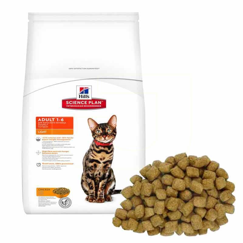 Hills Tavuklu Light Yetişkin Kedi Maması 1,5 Kg | 123,25 TL