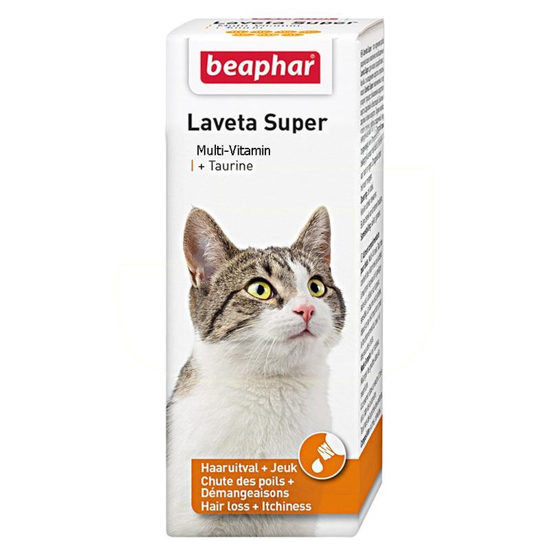 Beaphar Laveta Taurine Kediler İçin Multi Vitamin 50 ml | 49,50 TL
