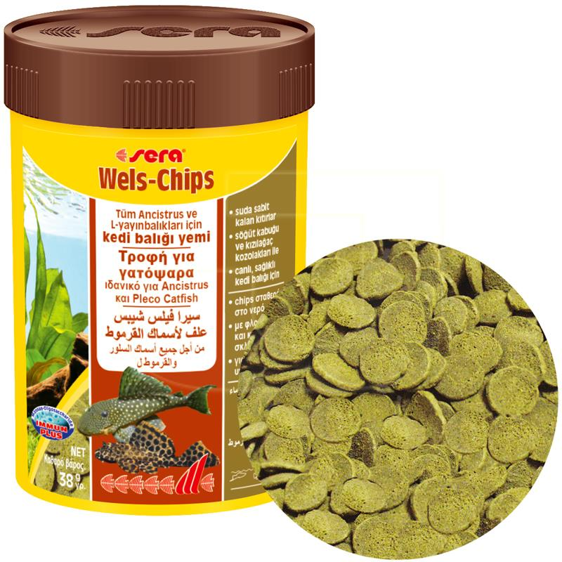 Sera Wels Chips Vatoz Balığı Yemi 100 ml | 36,48 TL