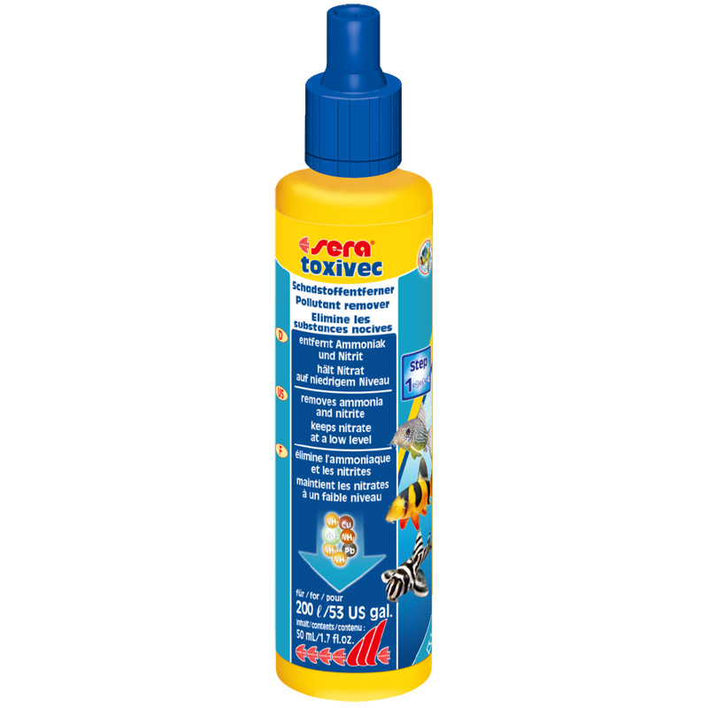 Sera Toxivec Akvaryum Su Düzenleyici 50 ml | 33,15 TL