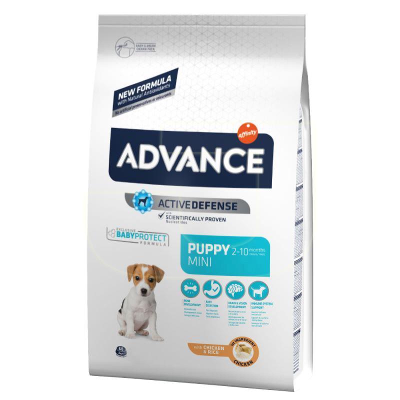 Advance Tavuklu Ve Pirinçli Küçük Irk Yavru Köpek Maması 3 Kg | 157,16 TL