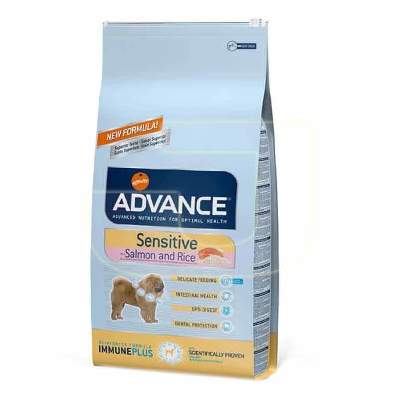 Advance Sensitive Somon Ve Pirinçli Yetişkin Köpek Maması 3 Kg | 144,42 TL