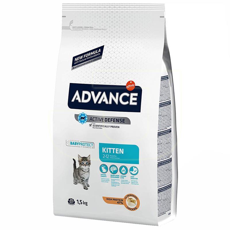 Advance Kitten Tavuklu Ve Pirinçli Yavru Kedi Maması 1,5 Kg | 112,40 TL